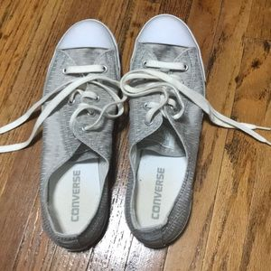 Converse sneakers, size 8